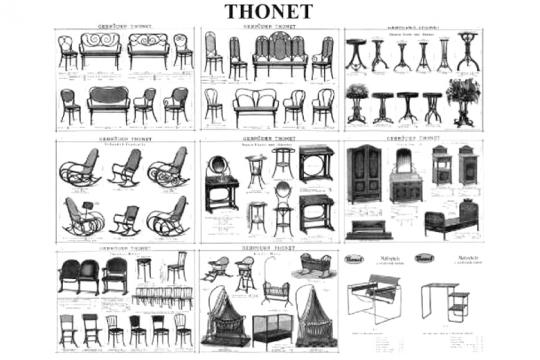 Modelli Sedie Thonet.Thonet Produttore Di Arredo 1819 Aziende Designindex