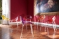 La Marie, Philippe Starck, Kartell, chair, polycarbonate, transparent, stackable