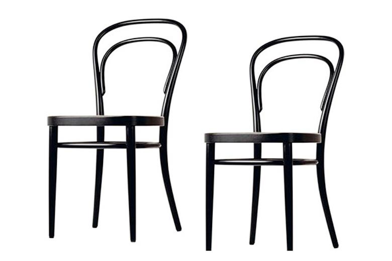 Sedia thonet sedia in legno 1859 prodotti for Sedie design famose