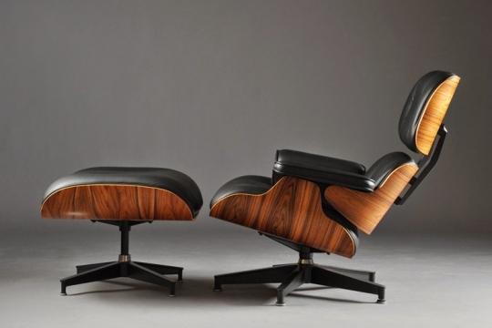 Eames lounge chair compensato stampato e pelle prodotti
