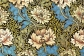 Carta da parati, design William Morris