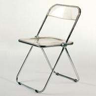 Plia castelli sedia pieghevole 1968 prodotti for Sedie pieghevoli trasparenti